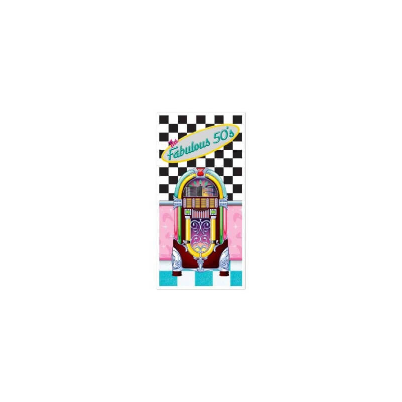 D coration murale the fabulous 50 39 s jukebox for Decoration murale annee 50