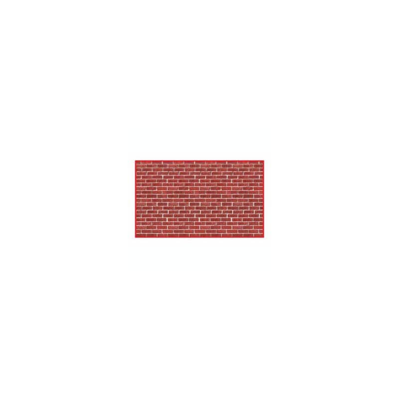 D coration murale g ante brique rouge - Decoration murale geante ...