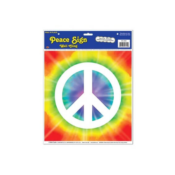 D coration murale autocollante peace and love for Decoration murale love