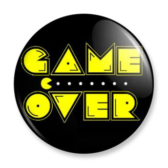 Badge : Pac-Man - Game Over