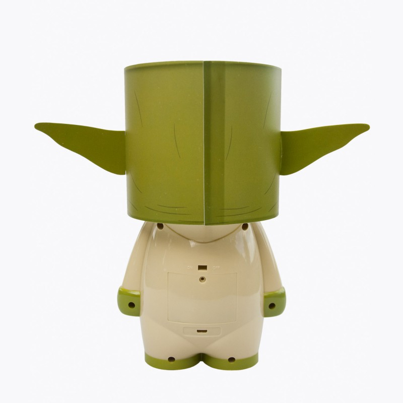 lampe d 39 ambiance star wars yoda. Black Bedroom Furniture Sets. Home Design Ideas