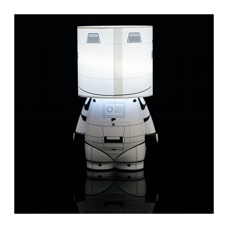 lampe d 39 ambiance star wars stormtrooper. Black Bedroom Furniture Sets. Home Design Ideas