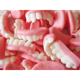 Bonbon dentier - Dents