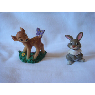 Disney : Bambi : Lot de 2