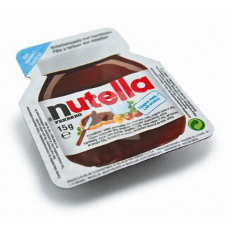 Barquette Nutella - Lot de 5
