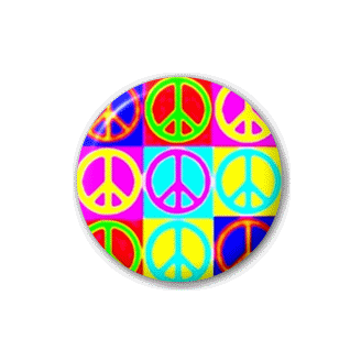 Badge : Insignes Peace 70's