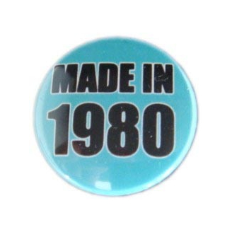 Badge : Made in 1980