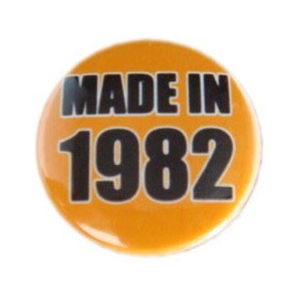 Badge : Made in 1982