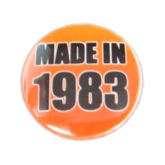 Badge : Made in 1983