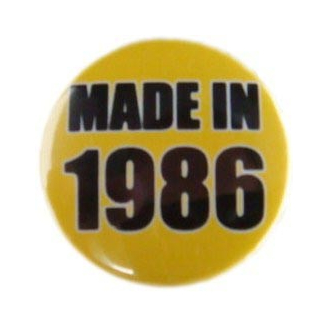 Badge : Made in 1986