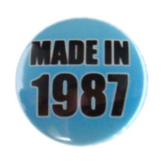 Badge : Made in 1987