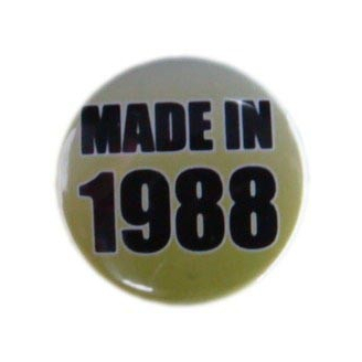 Badge : Made in 1988