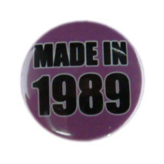 Badge : Made in 1989