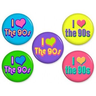 Badge : I love the 90's