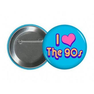Badge I love the 90's