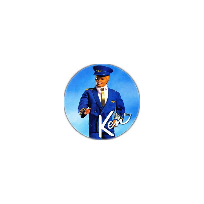 Badge : Ken pilote de ligne (Barbie)