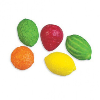 Chewing-gum : Macédoine de fruits - Lot de 10