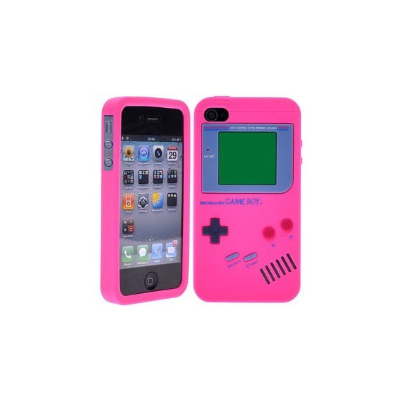coque iphone 4 silicone console