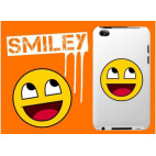 Coque iPhone 4/4S - Smiley
