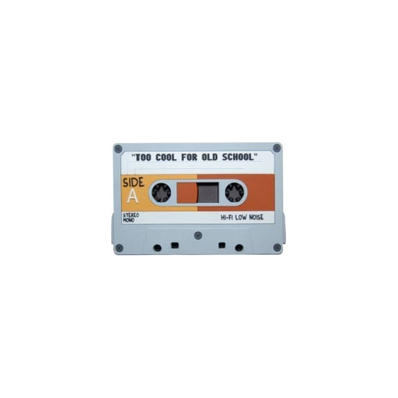 Magnet : Cassette audio - Too cool for old School
