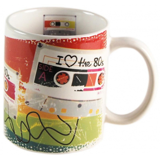 Mug - Cassette audio - I love the 80's