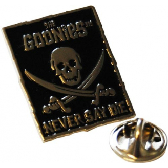 "Pin's - The Goonies - ""Never Say Die"""