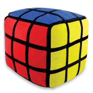 Pouf gonflable Rubik's Cube