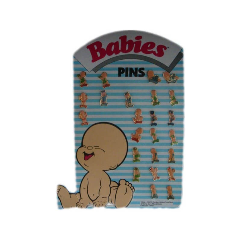 Pin's Babies - Aristide le timide