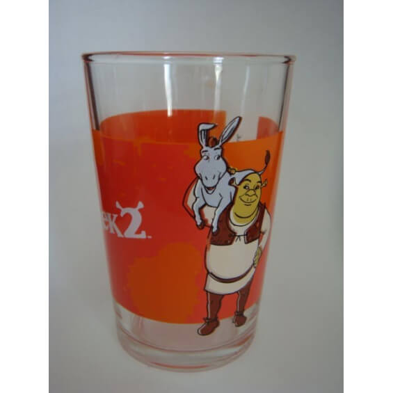 Verre à moutarde : Shrek 2