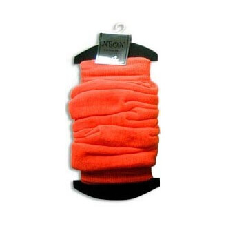 Leg Warmers : jambières fines orange fluo