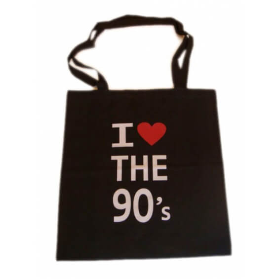 "Sac à bandoulière - ""I love the 90's"""