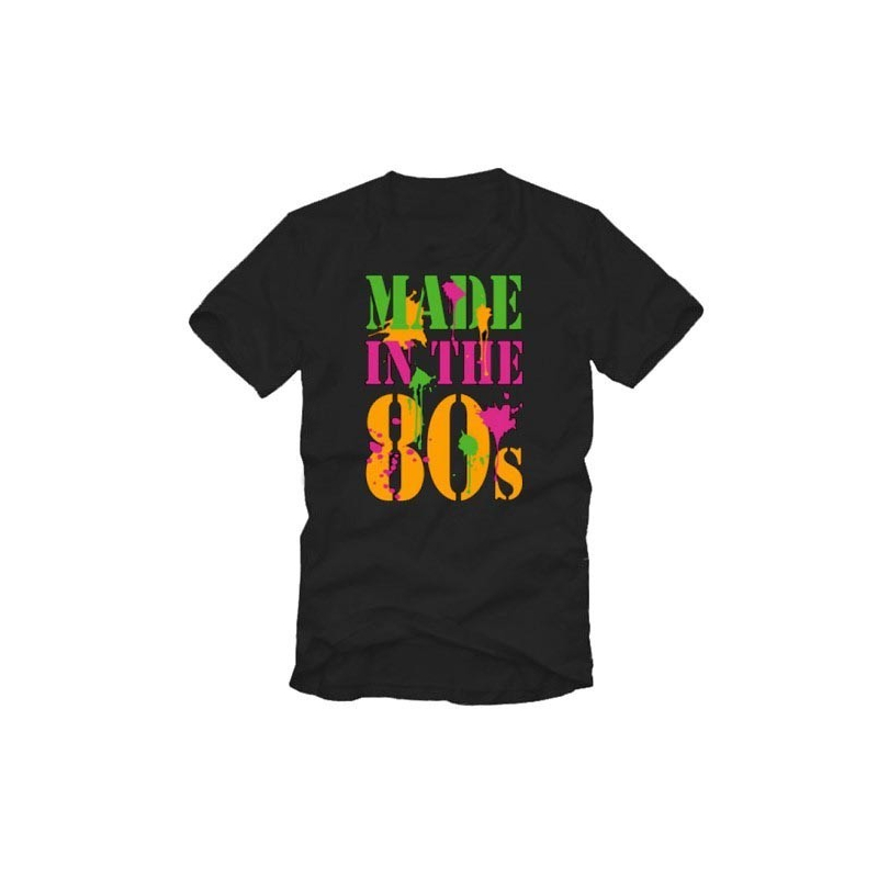 """T-shirt : """"Made in the 80's"""""""