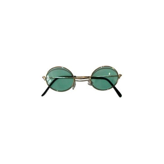 Lunettes rondes - Hippie - Baba Cool - vert