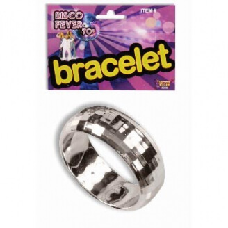 Bracelet Disco : Aspect métallique