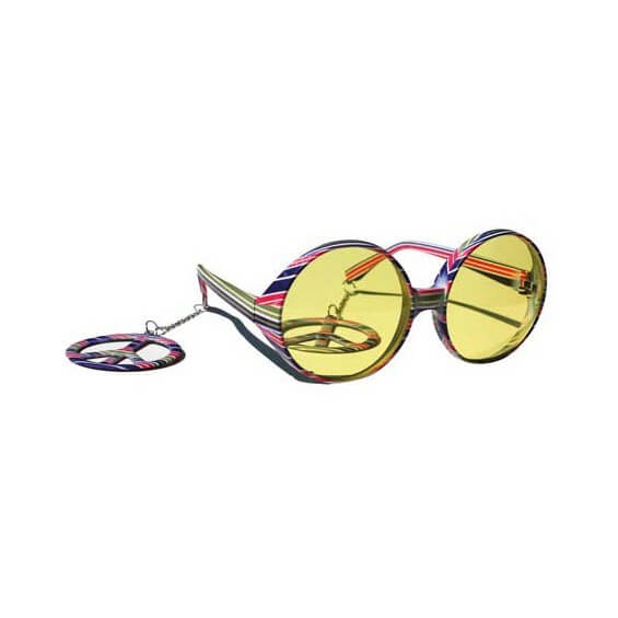 Lunettes Disco - Peace and Love