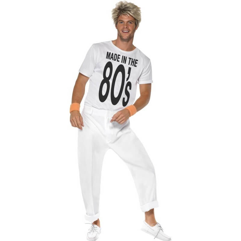 Déguisement Homme des années 80 - Made in the 80's