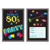 Cartons d'invitations : Totally 80's Party
