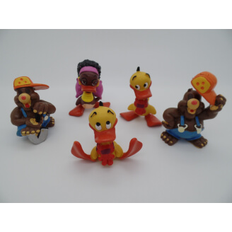 Alfred J. Kwak - Lot de 5 figurines