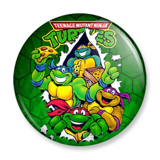 Badge : Tortues Ninja