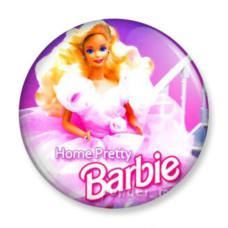 Badge : Barbie - Home Pretty