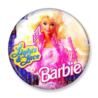Badge : Barbie - Lights & Lace