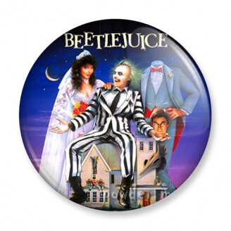 Badge : Beetlejuice