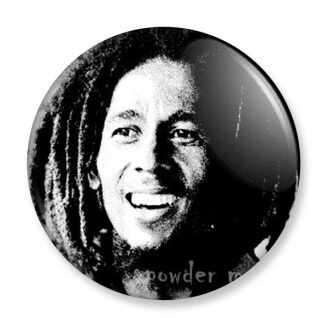 Badge : Bob Marley & The Whailers - Kaya