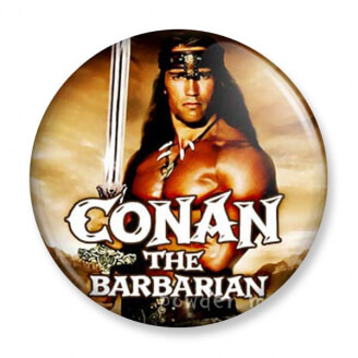 Badge : Conan le barbare