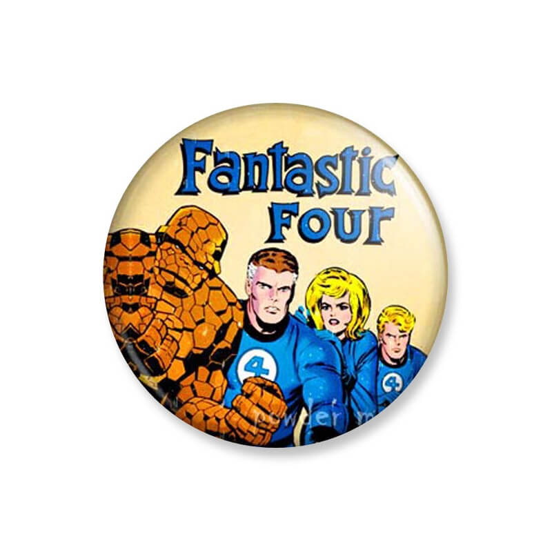 Badge : Fantastic Four - Marvel