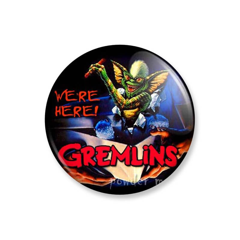 Badge : Gremlins - Stripe