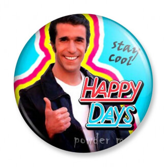 Badge : Happy Days Fonzie