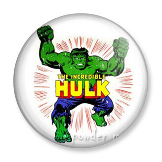 Badge : Hulk - Marvel