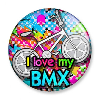 Badge : I love my BMX