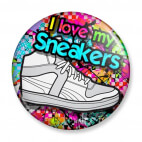 Badge : I love my Sneakers